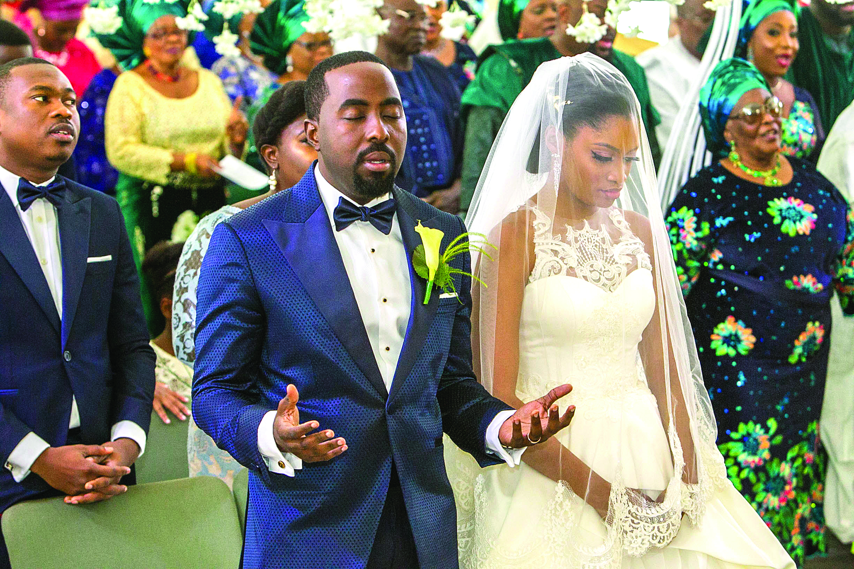 The Colourful Wedding Ceremony Of Xerona Duke And Derin Phillips